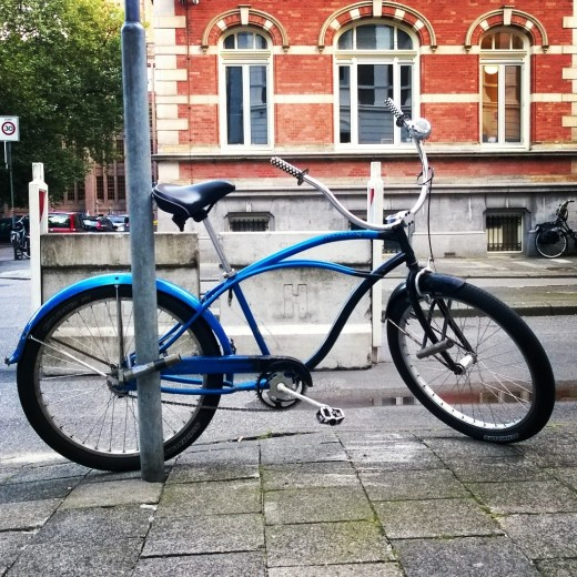 Bataleon Cruiser bike found in the streets of Utrecht, Netherlands