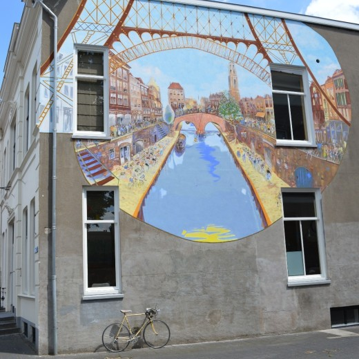 Mural on Biltstraat